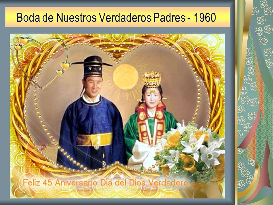 Boda de Nuestros Verdaderos Padres - 1960