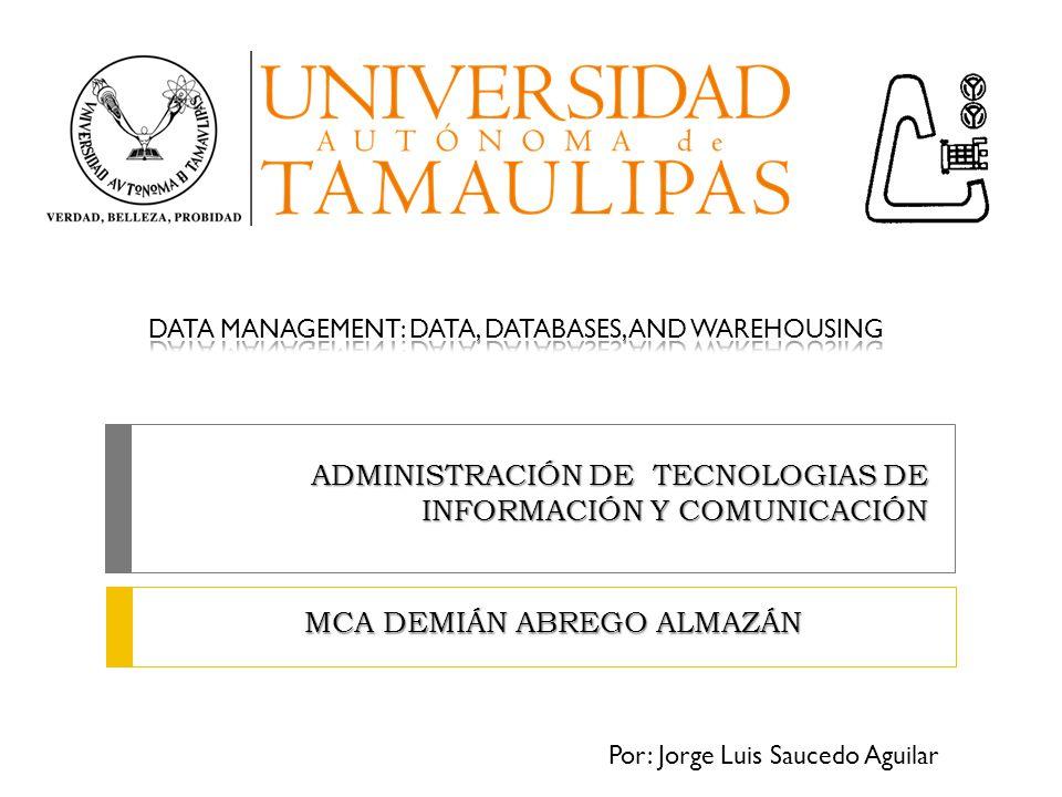 ADMINISTRACIÓN DE TECNOLOGIAS DE INFORMACIÓN Y COMUNICACIÓN