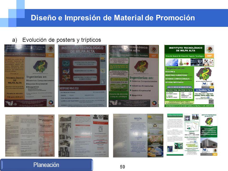Diseño e Impresión de Material de Promoción
