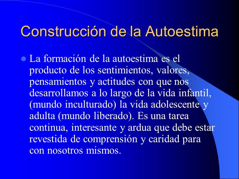 Construcción de la Autoestima