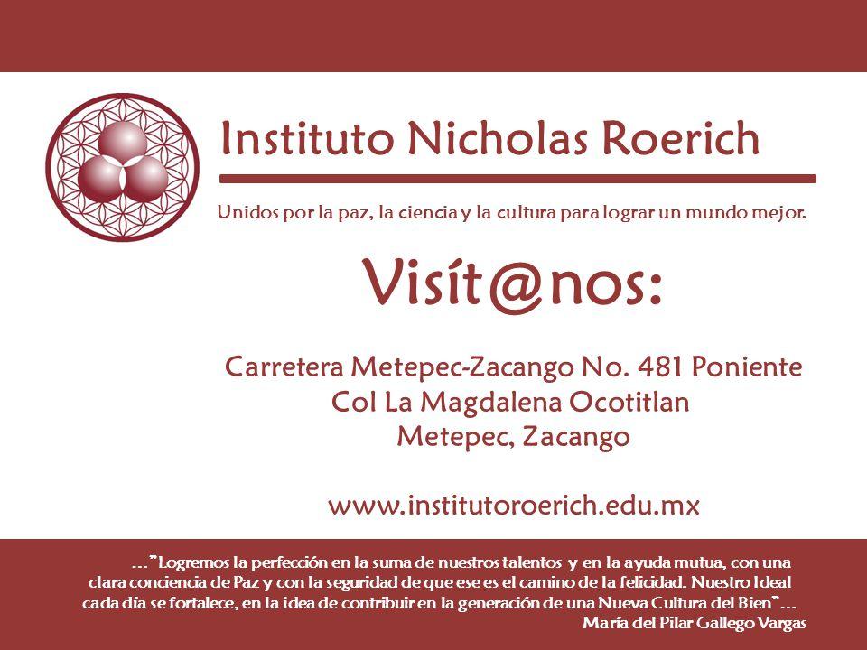 Visít@nos: Instituto Nicholas Roerich