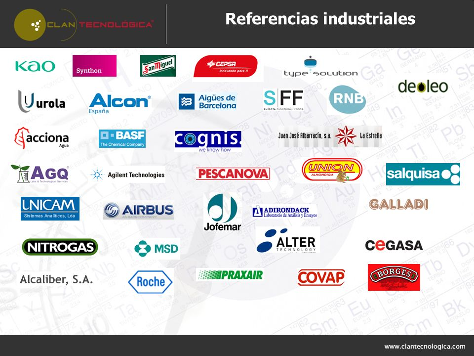 Referencias industriales