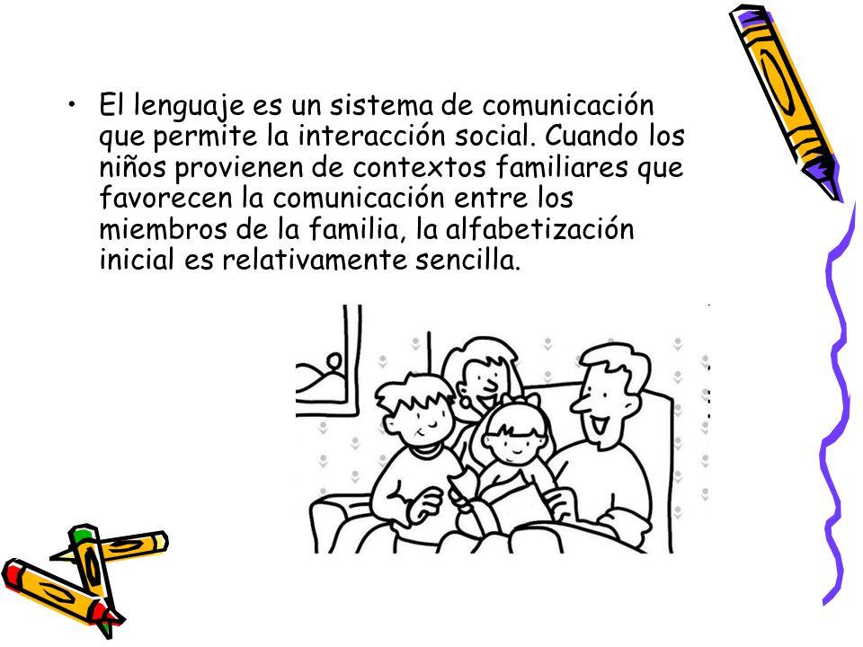 El lenguaje es un sistema de comunicación que permite la interacción social.