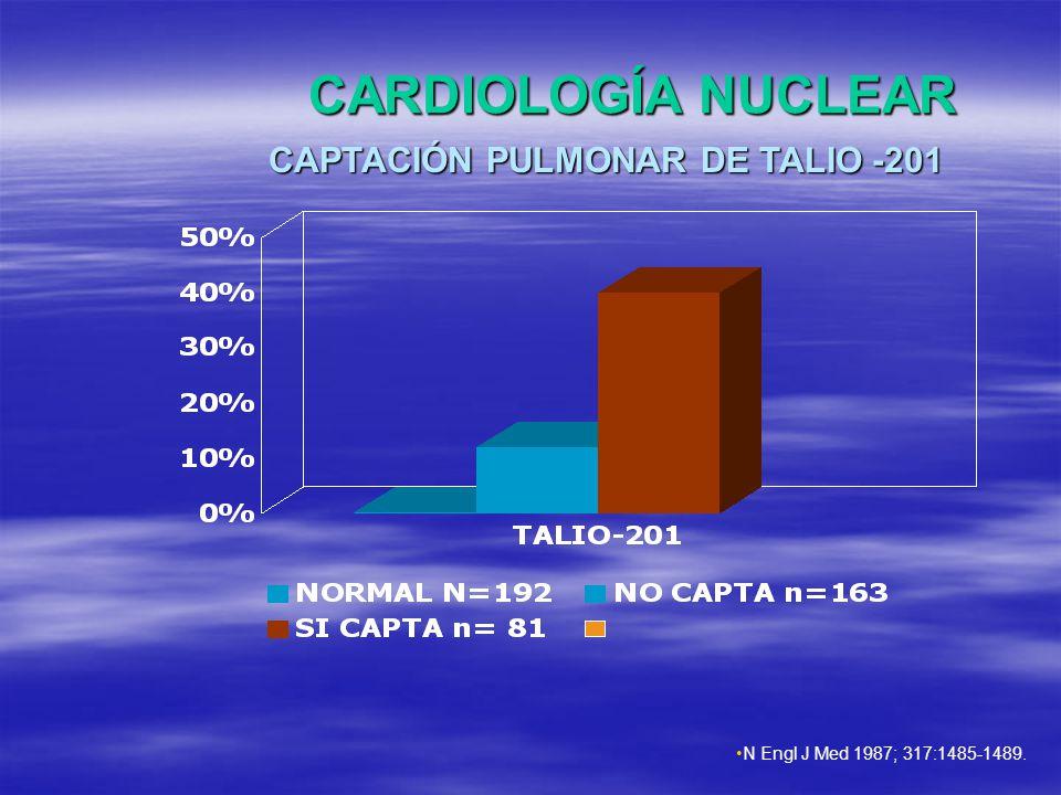 CAPTACIÓN PULMONAR DE TALIO -201
