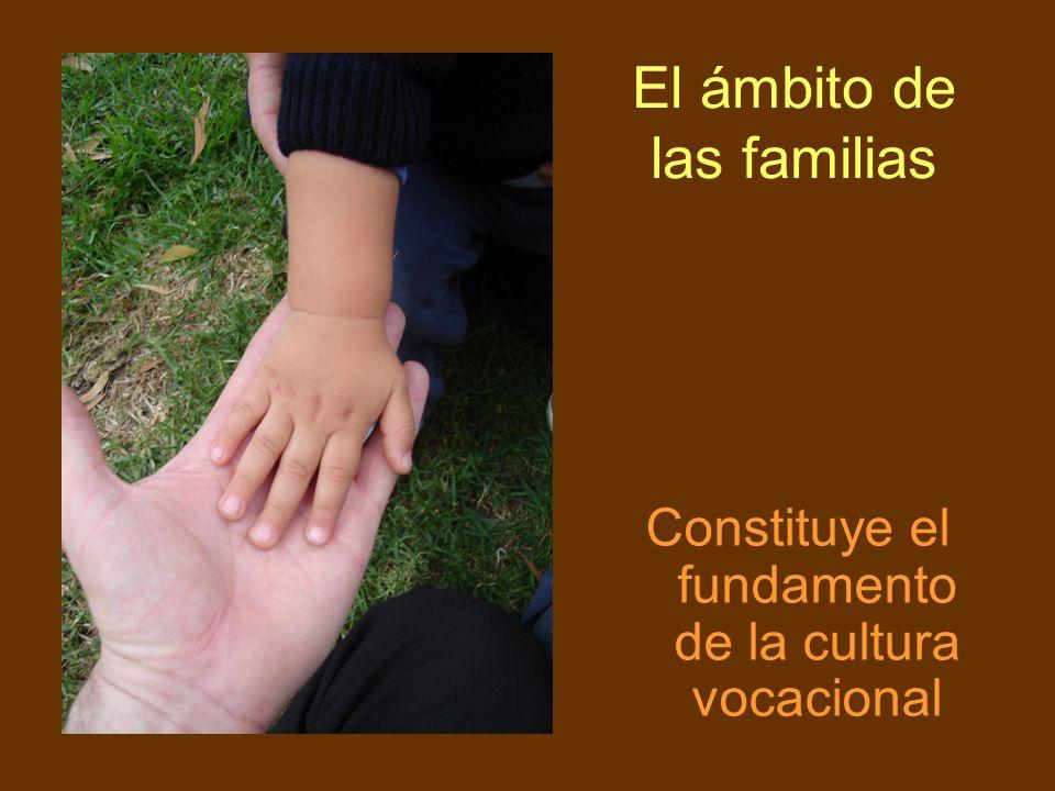El ámbito de las familias