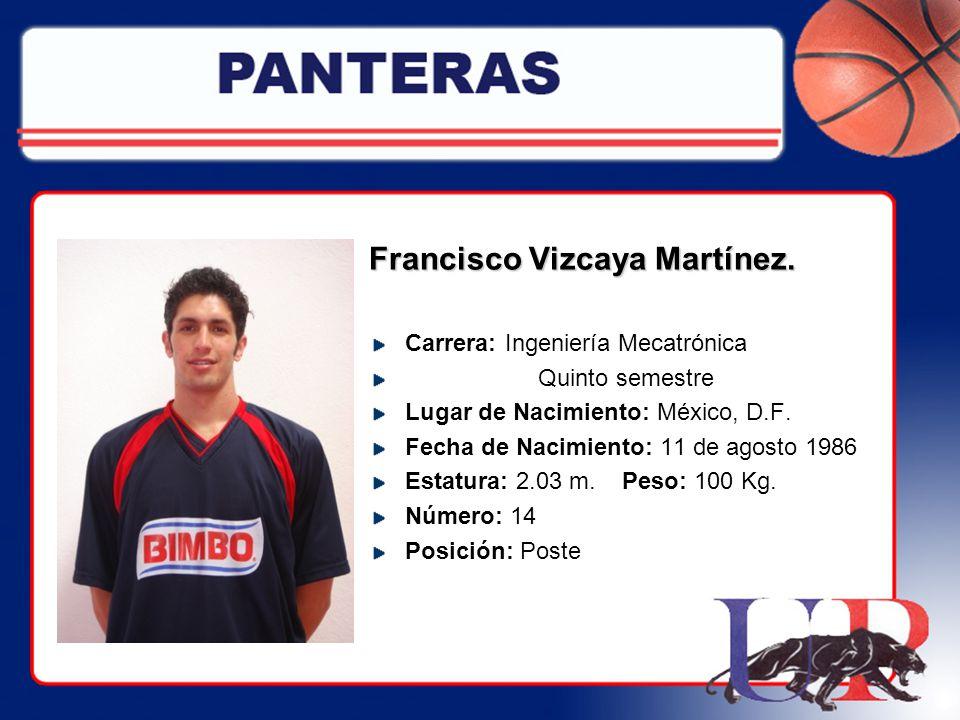 Francisco Vizcaya Martínez.