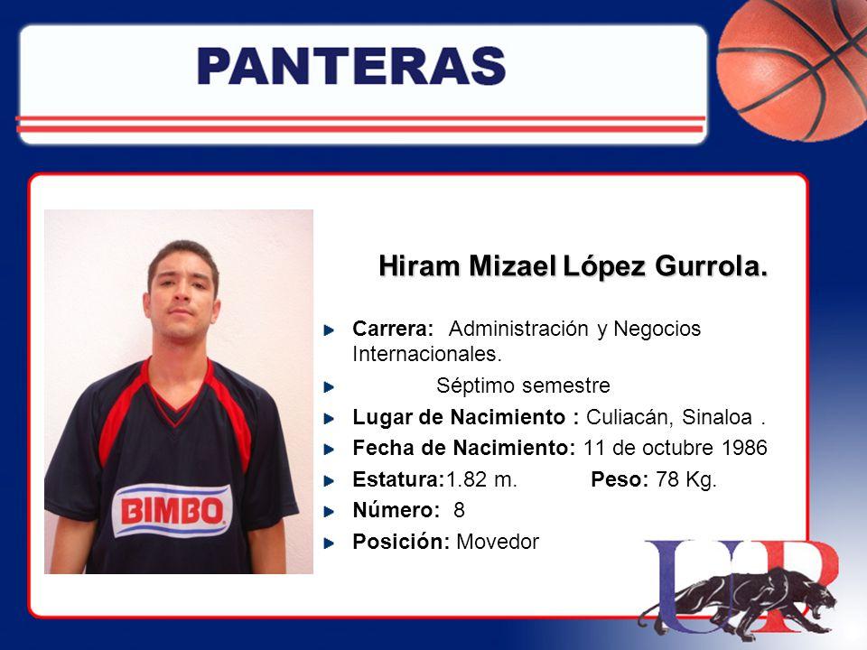 Hiram Mizael López Gurrola.