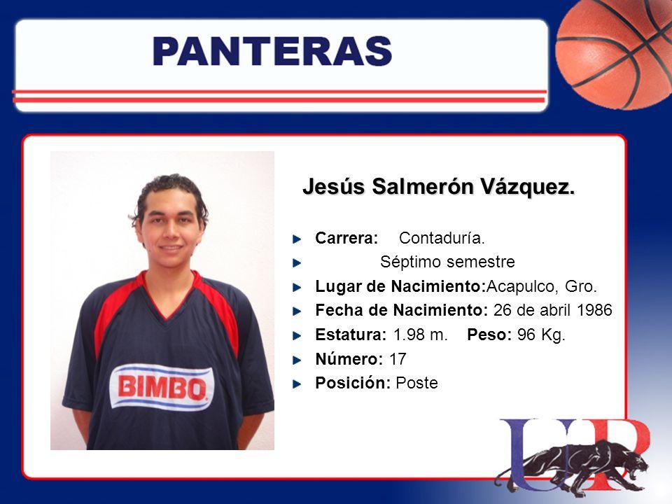 Jesús Salmerón Vázquez.