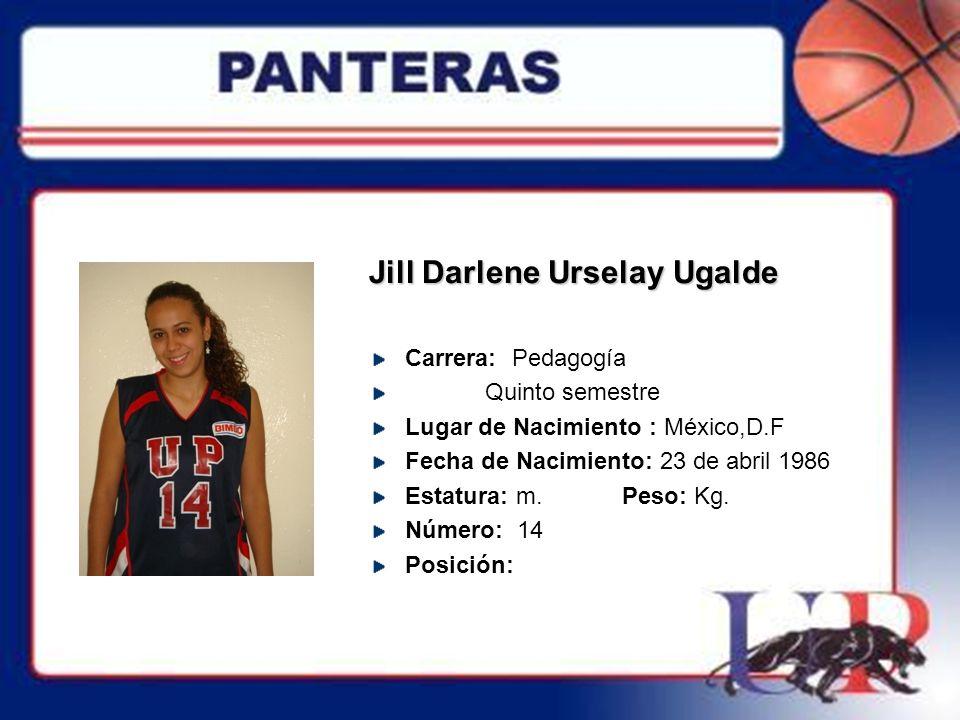 Jill Darlene Urselay Ugalde