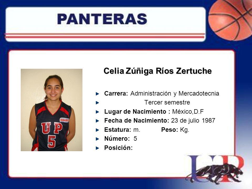 Celia Zúñiga Ríos Zertuche