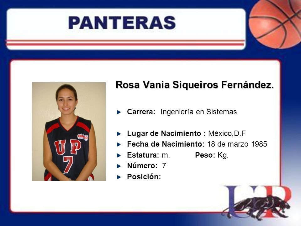 Rosa Vania Siqueiros Fernández.