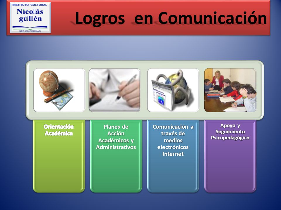 Logros en Comunicación