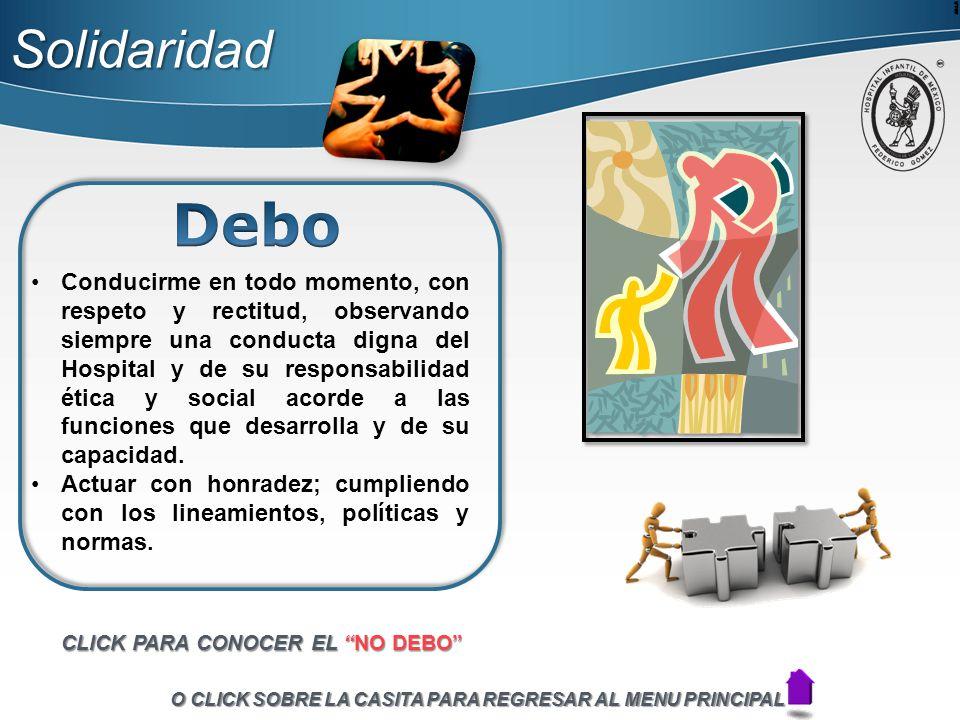 Solidaridad Debo.