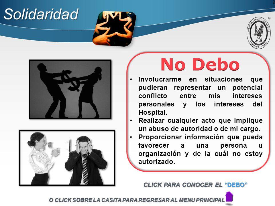 Solidaridad No Debo.