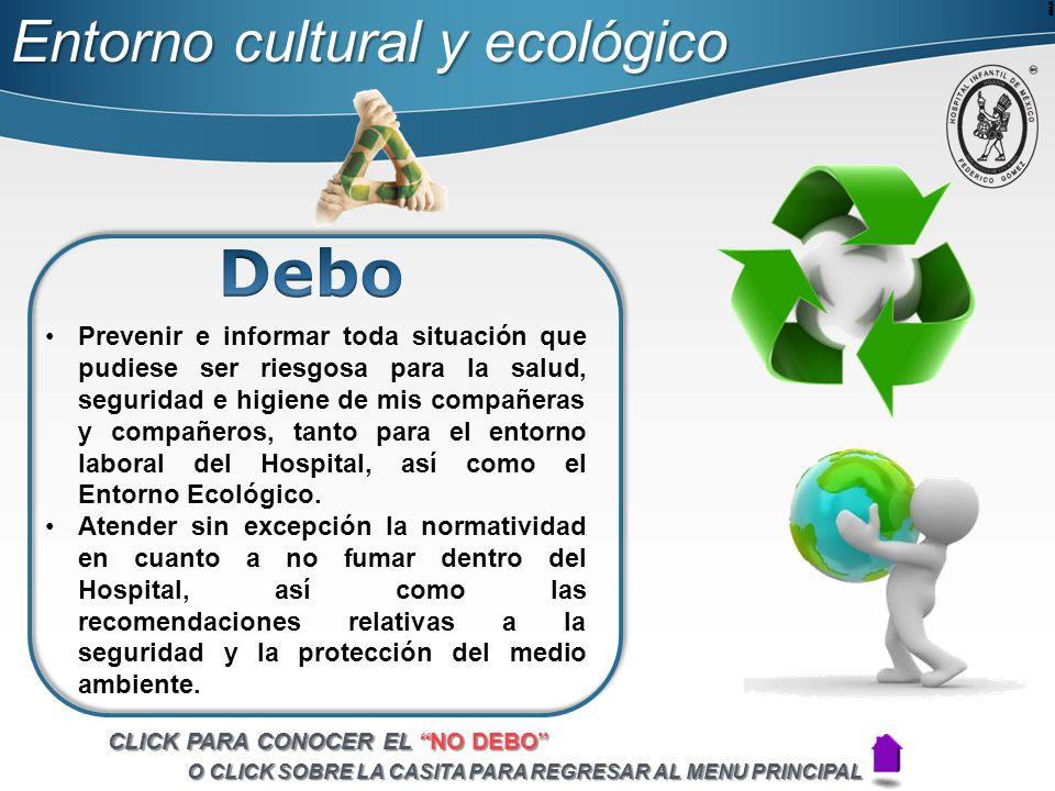 Debo Entorno cultural y ecológico