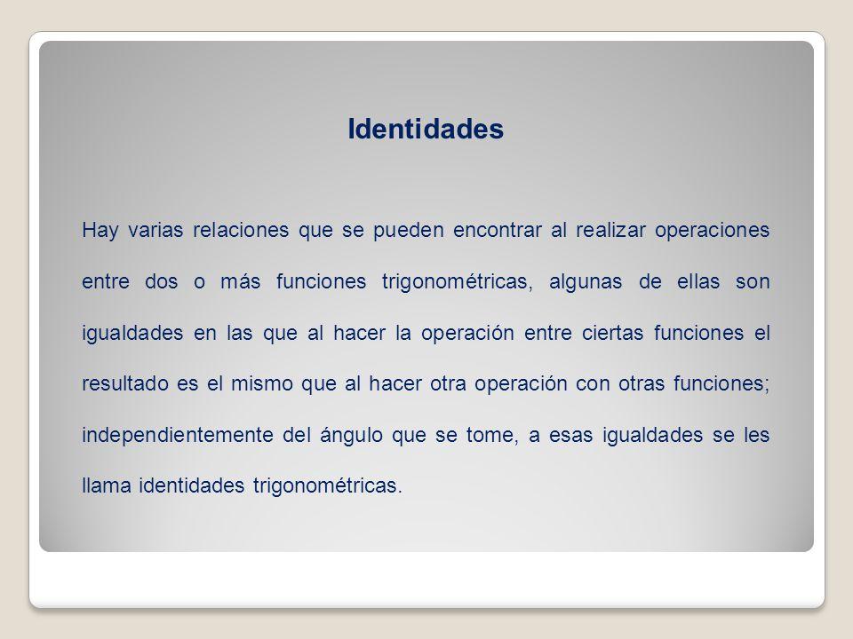Identidades