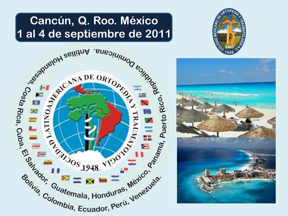 Cancún, Q. Roo. México 1 al 4 de septiembre de 2011