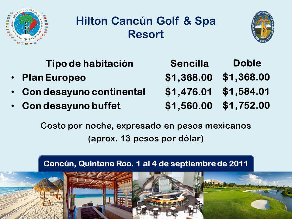 Hilton Cancún Golf & Spa Resort