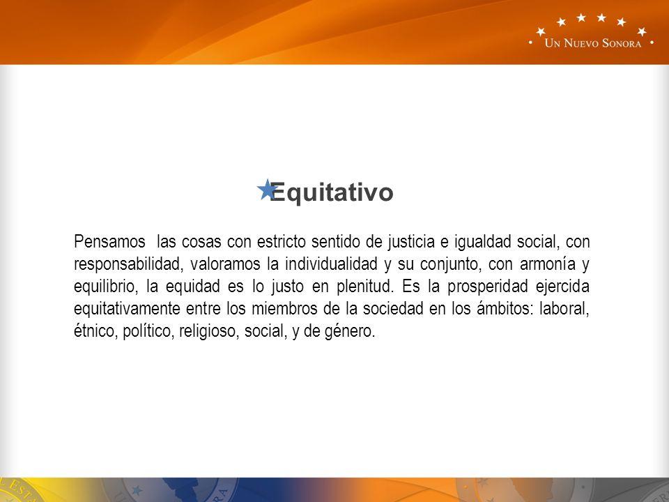 Equitativo