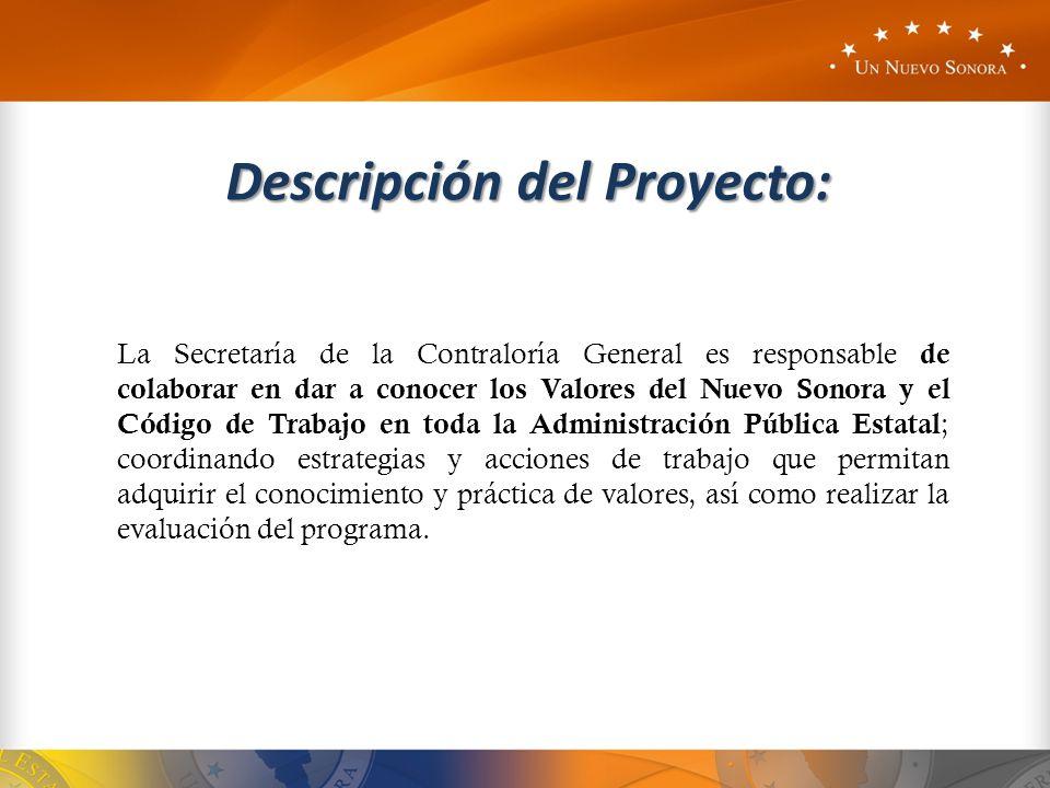 Descripción del Proyecto: