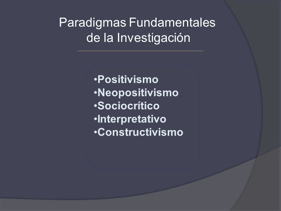 Paradigmas Fundamentales