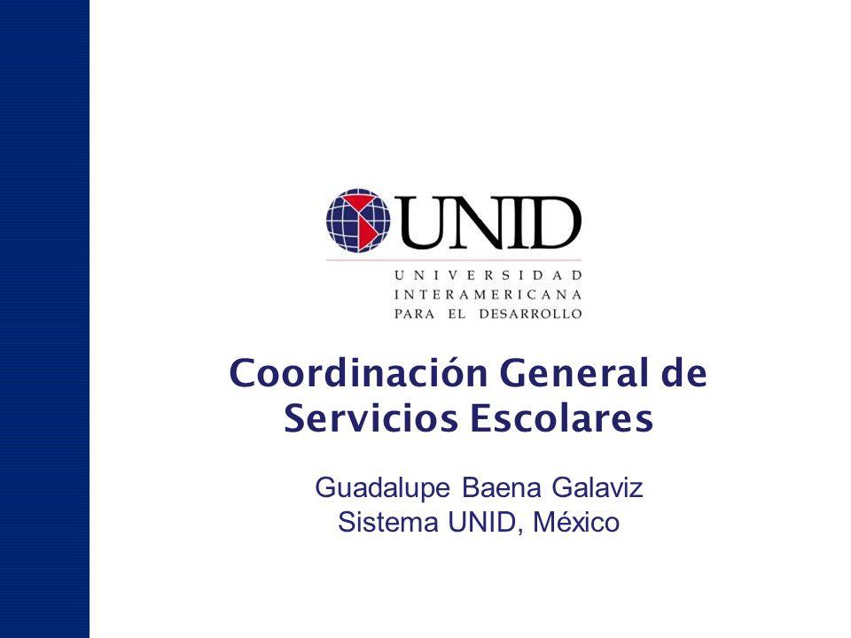 Coordinación General de Servicios Escolares
