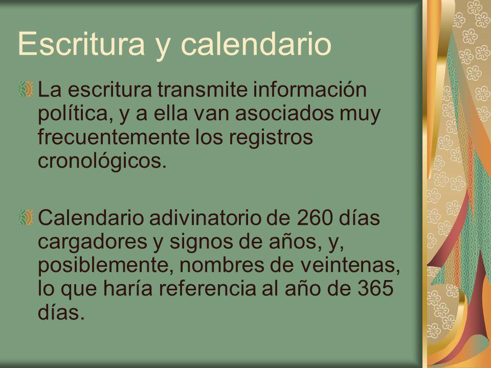 Escritura y calendario