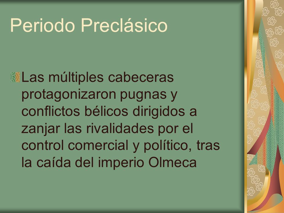 Periodo Preclásico