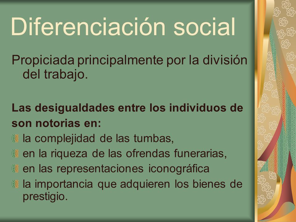 Diferenciación social