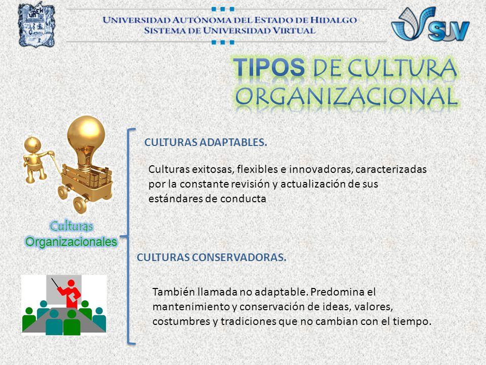 Tipos de cultura organizacional