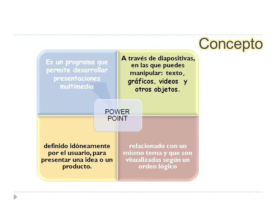 Es un programa que permite desarrollar presentaciones multimedia