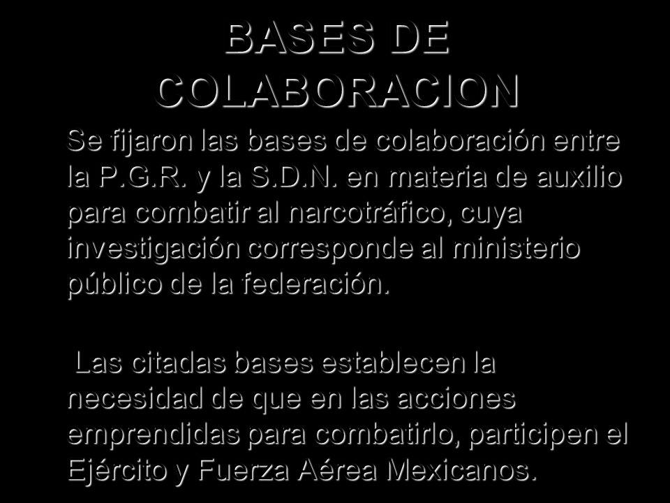 BASES DE COLABORACION