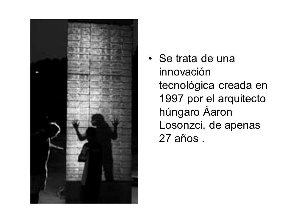 Se trata de una innovación tecnológica creada en 1997 por el arquitecto húngaro Áaron Losonzci, de apenas 27 años .