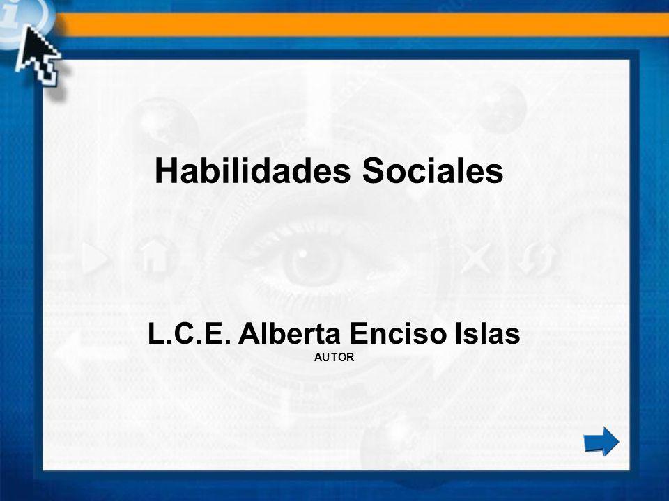 L.C.E. Alberta Enciso Islas