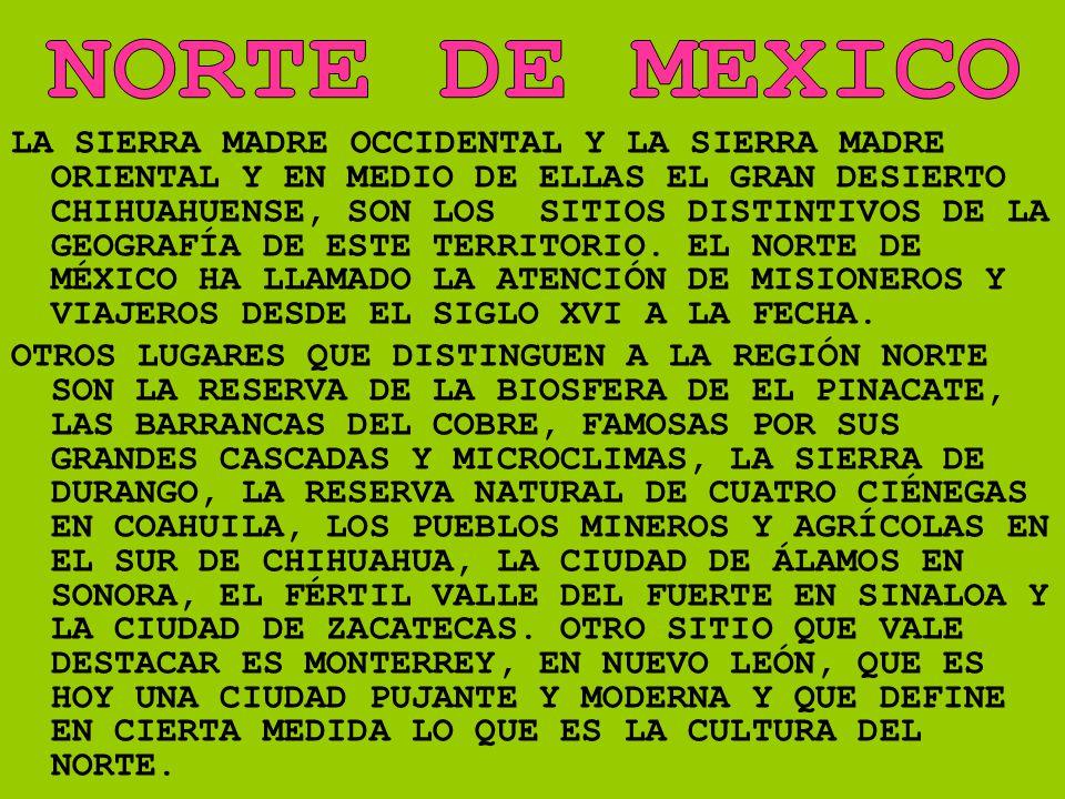 NORTE DE MEXICO