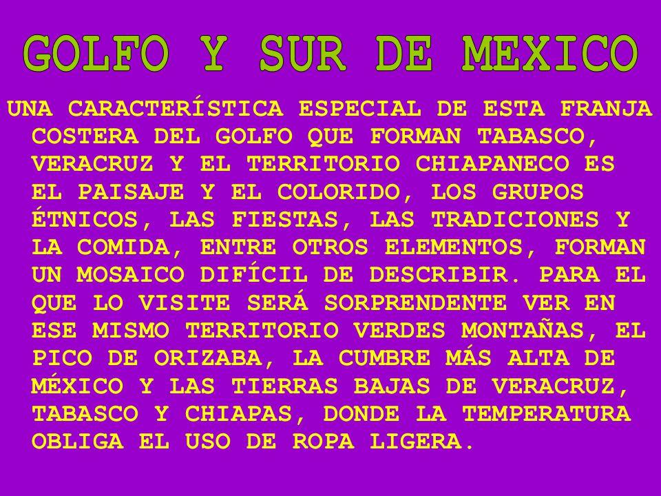 GOLFO Y SUR DE MEXICO