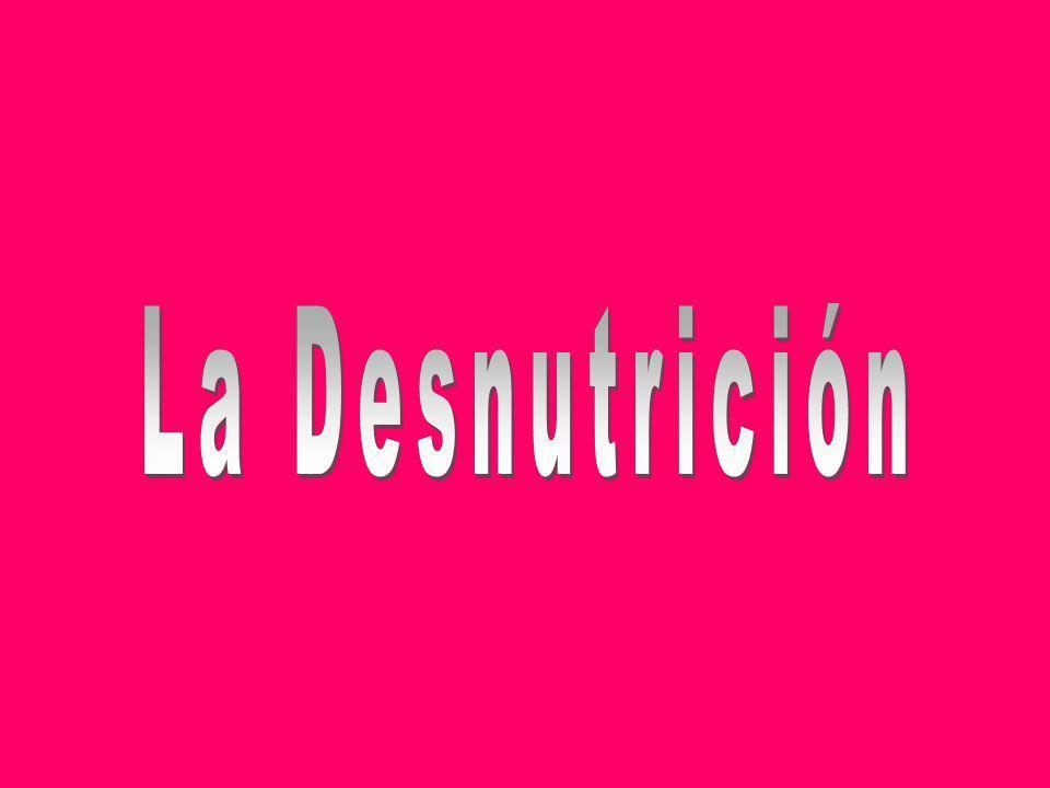 La Desnutrición