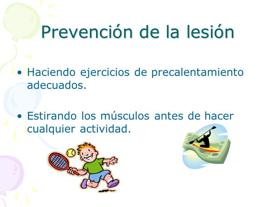 Prevención de la lesión