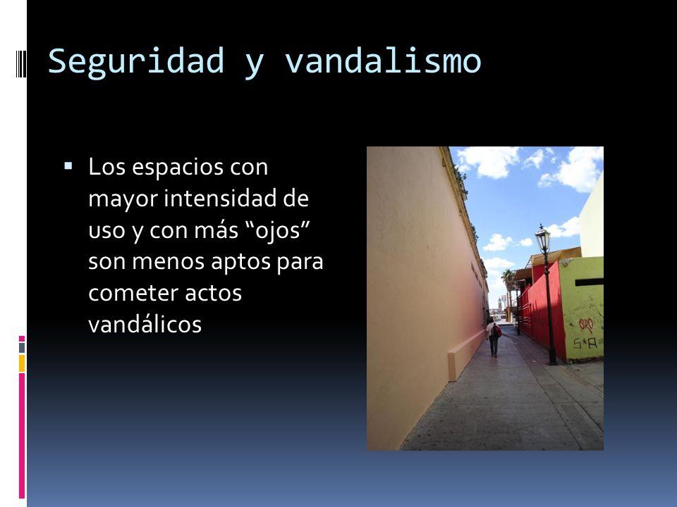Seguridad y vandalismo