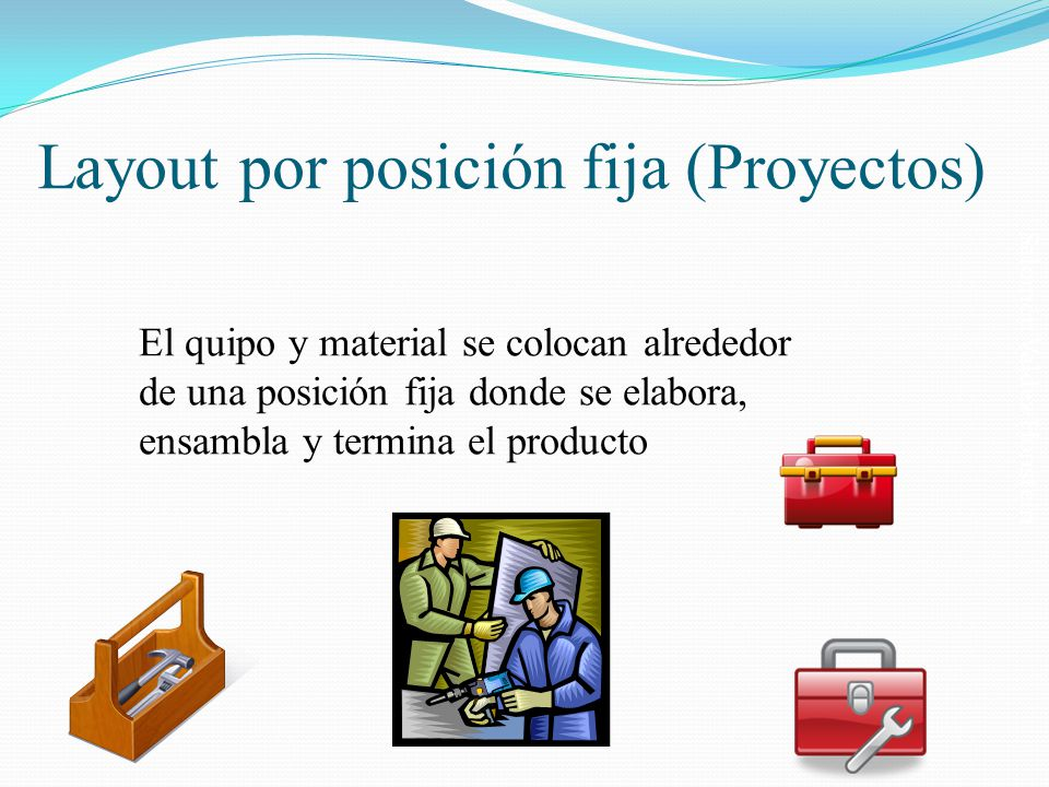 Layout por posición fija (Proyectos)