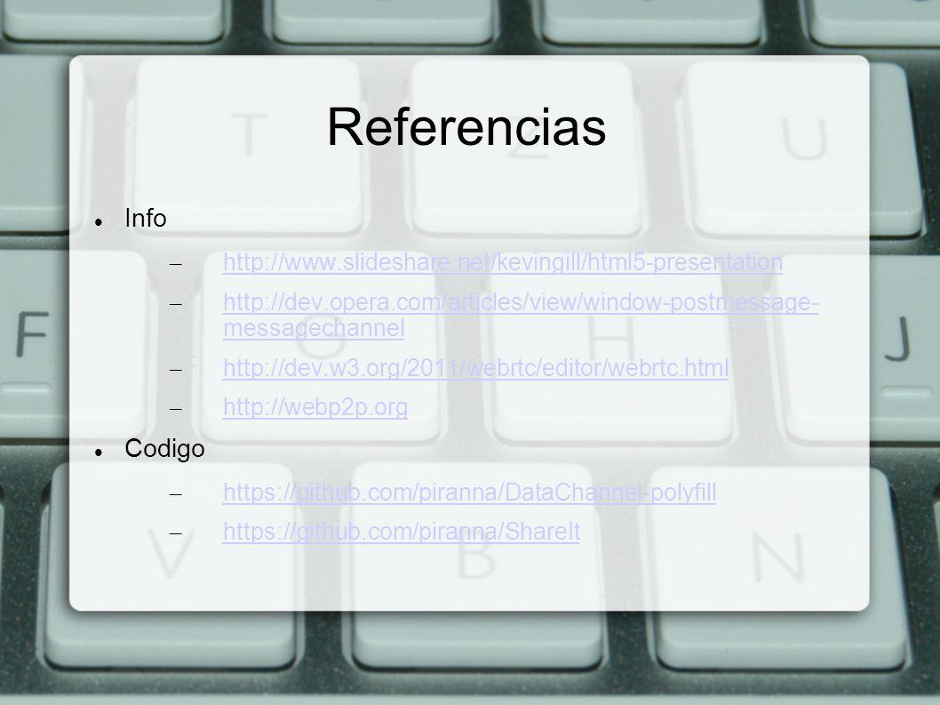 Referencias Info Codigo