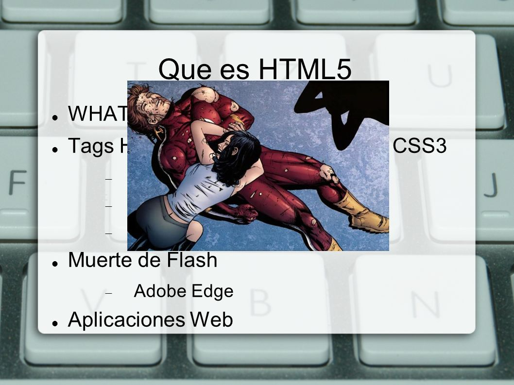 Que es HTML5 WHATWG, excinsión de W3C