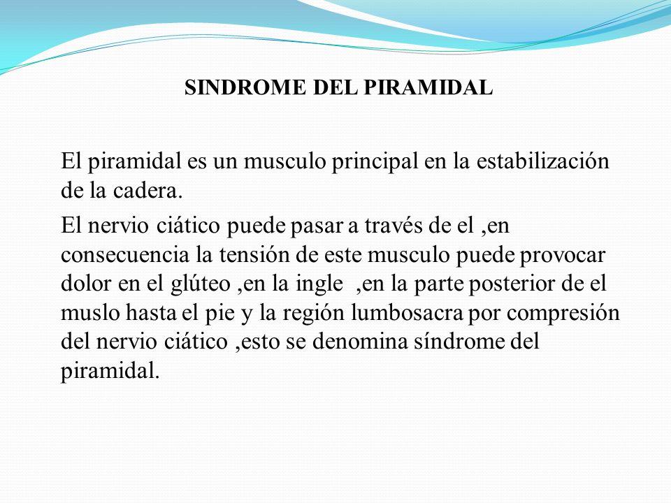 SINDROME DEL PIRAMIDAL