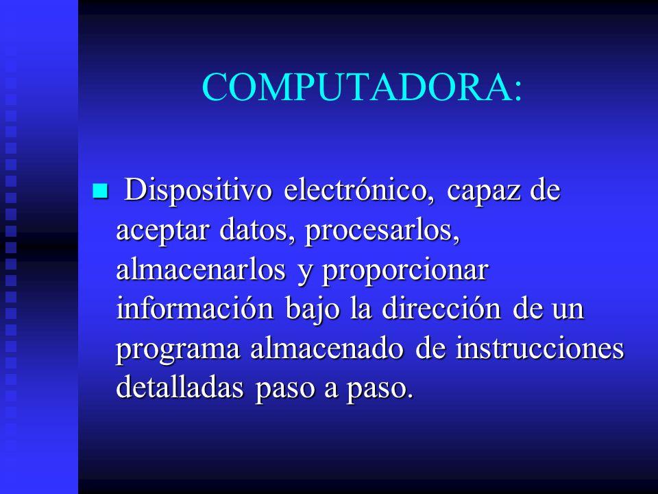 COMPUTADORA: