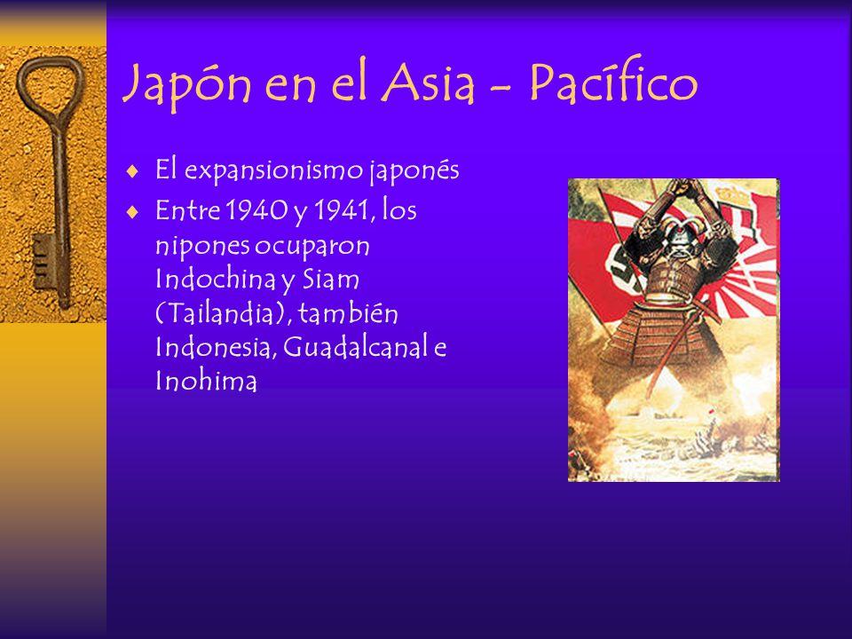 Japón en el Asia - Pacífico