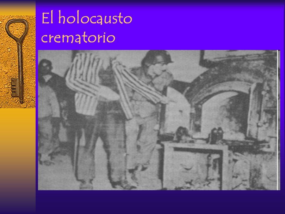 El holocausto crematorio