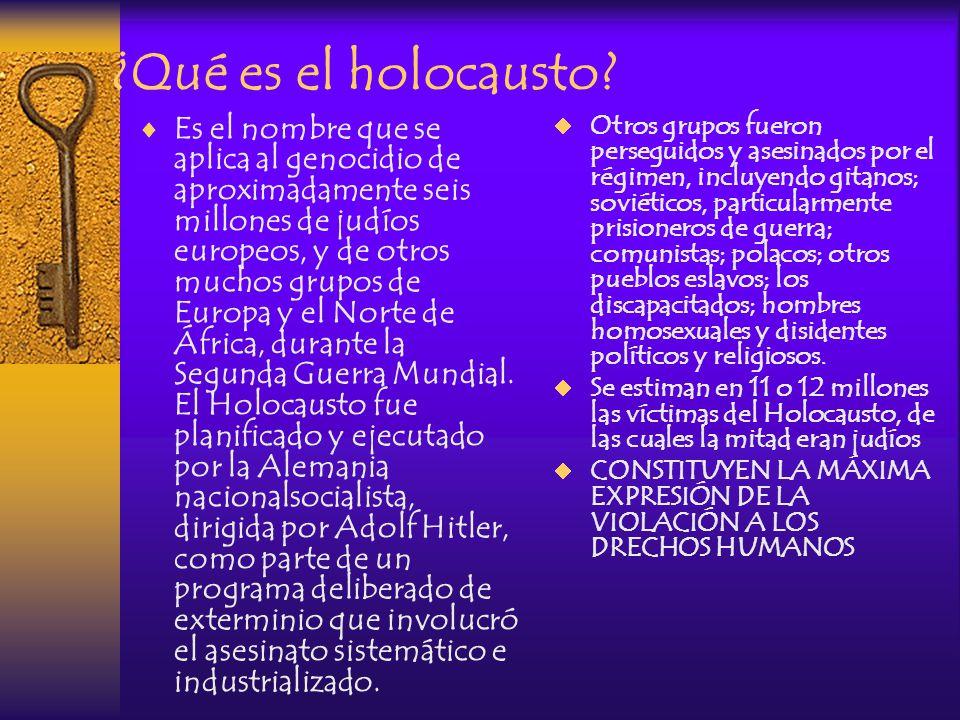 ¿Qué es el holocausto