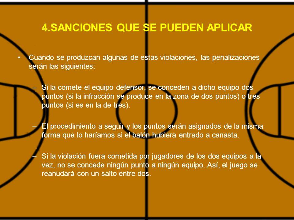 4.SANCIONES QUE SE PUEDEN APLICAR