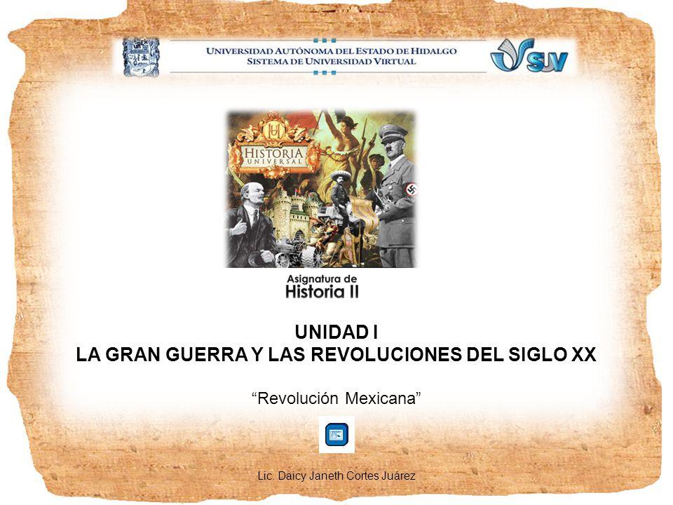 LA GRAN GUERRA Y LAS REVOLUCIONES DEL SIGLO XX