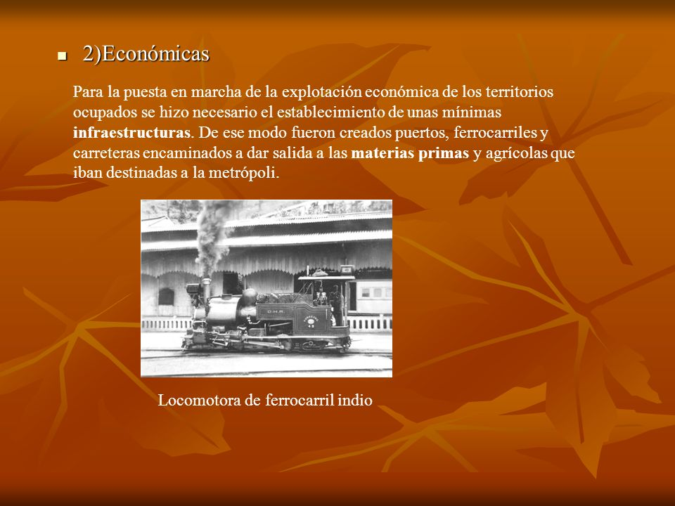 2)Económicas